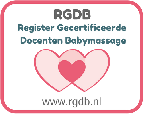 RGDB Register Gecertificeerde Docent Babymassage